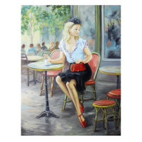 """Taras Sidan Signed """"Dandy"""" Limited Edition 30x40 Giclee on Canvas (PA LOA) at PristineAuction.com"""