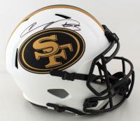 Vernon Davis Signed 49ers Full-Size Lunar Eclipse Alternate Speed Helmet (Beckett Hologram) (See Description) at PristineAuction.com