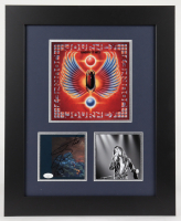 "Steve Perry Signed 17x21 Custom Framed Journey ""Greatest Hits"" Album Photo Display (JSA COA) at PristineAuction.com"