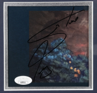 """Steve Perry Signed 17x21 Custom Framed Journey """"Greatest Hits"""" Album Photo Display (JSA COA) at PristineAuction.com"""