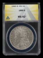 1889 Morgan Silver Dollar (ANACS MS62) at PristineAuction.com