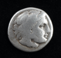 """Alexander III """"The Great"""" 336-323 B.C. Kingdom of Macedon AR Drachm Ancient Greek Silver Coin at PristineAuction.com"""