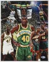 Shawn Kemp Signed 11x14 Photo (Beckett COA) at PristineAuction.com