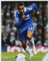 José Bosingwa Signed 11x14 Photo (Beckett COA) at PristineAuction.com