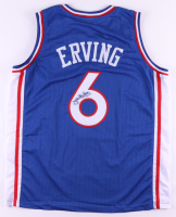 Julius Erving Signed Jersey (JSA COA) (See Description) at PristineAuction.com