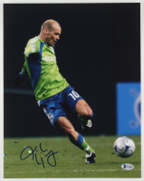 Freddie Ljungberg Signed Sounders 11x14 Photo (Beckett COA) at PristineAuction.com