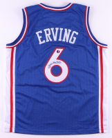 Julius Erving Signed Jersey (Sports Integrity COA) (See Description) at PristineAuction.com