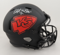 Christian Okoye Signed Chiefs Full-Size Eclipse Alternate Speed Helmet (JSA COA) at PristineAuction.com