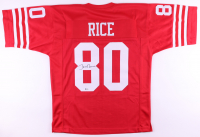 Jerry Rice Signed Jersey (Beckett COA) (See Description) at PristineAuction.com