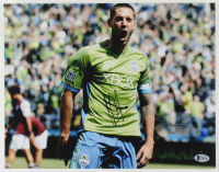Clint Dempsey Signed Sounders 11x14 Photo (Beckett COA) at PristineAuction.com