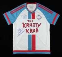 "Roger Bumpass Signed ""Spongebob Squarepants"" Jersey Inscribed ""Squidward"" (PSA COA) (See Description) at PristineAuction.com"