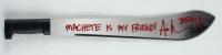 "Ari Lehman Signed Machete Inscribed ""Jason 1"" & ""Machete Is My Friend"" (Beckett COA) (See Description) at PristineAuction.com"