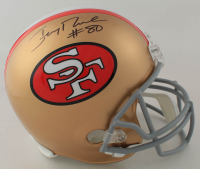 Jerry Rice Signed 49ers Full-Size Helmet (Steiner Hologram) at PristineAuction.com