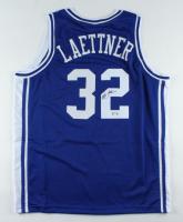 Christian Laettner Signed Jersey (PSA Hologram) at PristineAuction.com