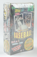 1995 Topps Baseball Power Pack Series 1 Card Box with (36) Packs (See Description) at PristineAuction.com
