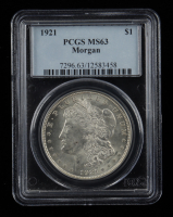 1921 Morgan Silver Dollar (PCGS MS63) at PristineAuction.com