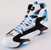 "Shaquille O'Neal Signed Reebok ""The Pump"" Game Model Size 22 Basketball Shoe (Fanatics Hologram) at PristineAuction.com"