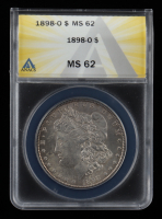 1898-O Morgan Silver Dollar (ANACS MS62) at PristineAuction.com