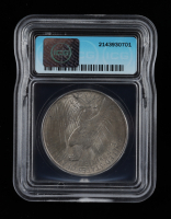 1922 Peace Silver Dollar, Shoulder Spike (ICG MS63) at PristineAuction.com