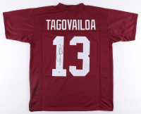 Tua Tagovailoa Signed Jersey (Beckett Hologram) at PristineAuction.com