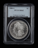 1880-S Morgan Silver Dollar (PCGS MS62) at PristineAuction.com