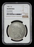 1922 Peace Silver Dollar (NGC AU Details) at PristineAuction.com