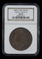 1888-O Morgan Silver Dollar, VAM-21 Oval O Top 100 (NGC AU55) (See Description) at PristineAuction.com