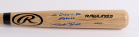 """Pete Rose Signed Rawlings Baseball Bat Inscribed """"I Didn't Do Steroids"""" (JSA COA & Fiterman Sports Hologram) at PristineAuction.com"""