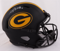 Davante Adams Signed Packers Full-Size Eclipse Alternate Speed Helmet (JSA COA) at PristineAuction.com