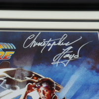 """Christopher Lloyd Signed """"Back to the Future"""" 17.5x24.5 Custom Framed Photo Display (PSA COA) at PristineAuction.com"""