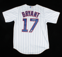 Kris Bryant Signed Cubs Jersey (Fanatics Hologram & MLB Hologram) (See Description) at PristineAuction.com