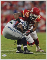 Derrick Johnson Signed Chiefs 11x14 Photo (PSA COA) at PristineAuction.com