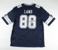 "CeeDee Lamb Signed Cowboys Jersey Inscribed ""America's Team"" (Fanatics Hologram) at PristineAuction.com"