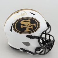 Deebo Samuel Signed 49ers Full-Size Lunar Eclipse Alternate Speed Helmet (JSA COA) at PristineAuction.com