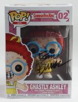 "Tom Bunk Signed ""Garbage Pail Kids"" #02 Ghastly Ashley Funko Pop! Vinyl Figure (PSA COA & Beckett COA) (See Description) at PristineAuction.com"