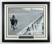 Ron Turcotte Signed 22x26 Custom Framed Photo Display (JSA COA) at PristineAuction.com