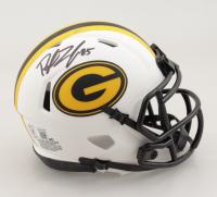 Robert Tonyan Signed Packers Lunar Eclipse Alternate Speed Mini Helmet (Beckett Hologram) (See Description) at PristineAuction.com