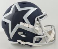 Emmitt Smith Signed Cowboys Full-Size AMP Alternate Speed Helmet (Prova COA & TriStar Hologram) at PristineAuction.com