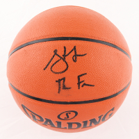 Steve Francis Signed NBA Game Ball Series Basketball with Inscription (JSA COA) (See Description) at PristineAuction.com