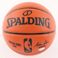 """Steve Francis Signed NBA Game Ball Series Basketball Inscribed """"The Franchise"""" (JSA COA) (See Description) at PristineAuction.com"""