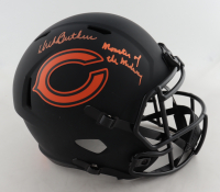 "Dick Butkus Signed Bears Full-Size Eclipse Alternate Speed Helmet Inscribed ""Monsters of the Midway"" (Beckett COA) at PristineAuction.com"