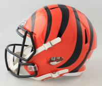 Chad Johnson Signed Bengals Full-Size Speed Helmet (PSA COA) at PristineAuction.com