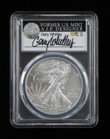 2013-(S) American Silver Eagle $1 One Dollar Coin - Struck at San Francisco, Gary Whitley Signed Label (PCGS MS70) at PristineAuction.com