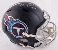 Chris Johnson Signed Titans Full-Size Speed Helmet (Beckett COA) at PristineAuction.com