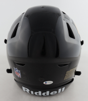 Dick Butkus Signed Bears Full-Size Authentic On-Field SpeedFlex Helmet with (4) Career Stat Inscriptions (Beckett COA) at PristineAuction.com