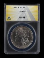 1897 Morgan Silver Dollar (ANACS AU58) at PristineAuction.com