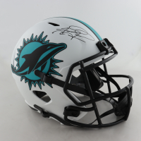 Tua Tagovailoa Signed Dolphins Full-Size Lunar Eclipse Alternate Speed Helmet (Fanatics Hologram) (See Description) at PristineAuction.com
