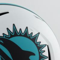 Tua Tagovailoa Signed Dolphins Full-Size Lunar Eclipse Alternate Speed Helmet (Fanatics Hologram) (See Description) at PristineAuction.com