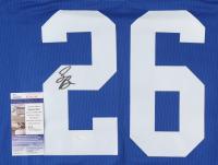 Saquon Barkley Signed Jersey (JSA COA) (See Description) at PristineAuction.com