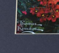 "Thomas Kinkade ""The Jungle Book"" 16x16 Custom Framed Print Display with (3) Movie Pins at PristineAuction.com"
